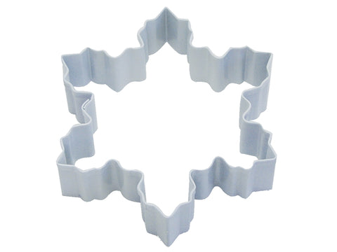 R&M Snowflake Cookie Cutter, White