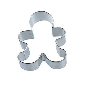 R & M International Gingerbread Boy Cookie Cutter 3.5""