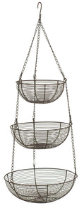 RSVP 3-Tier Hanging Basket – Bronze