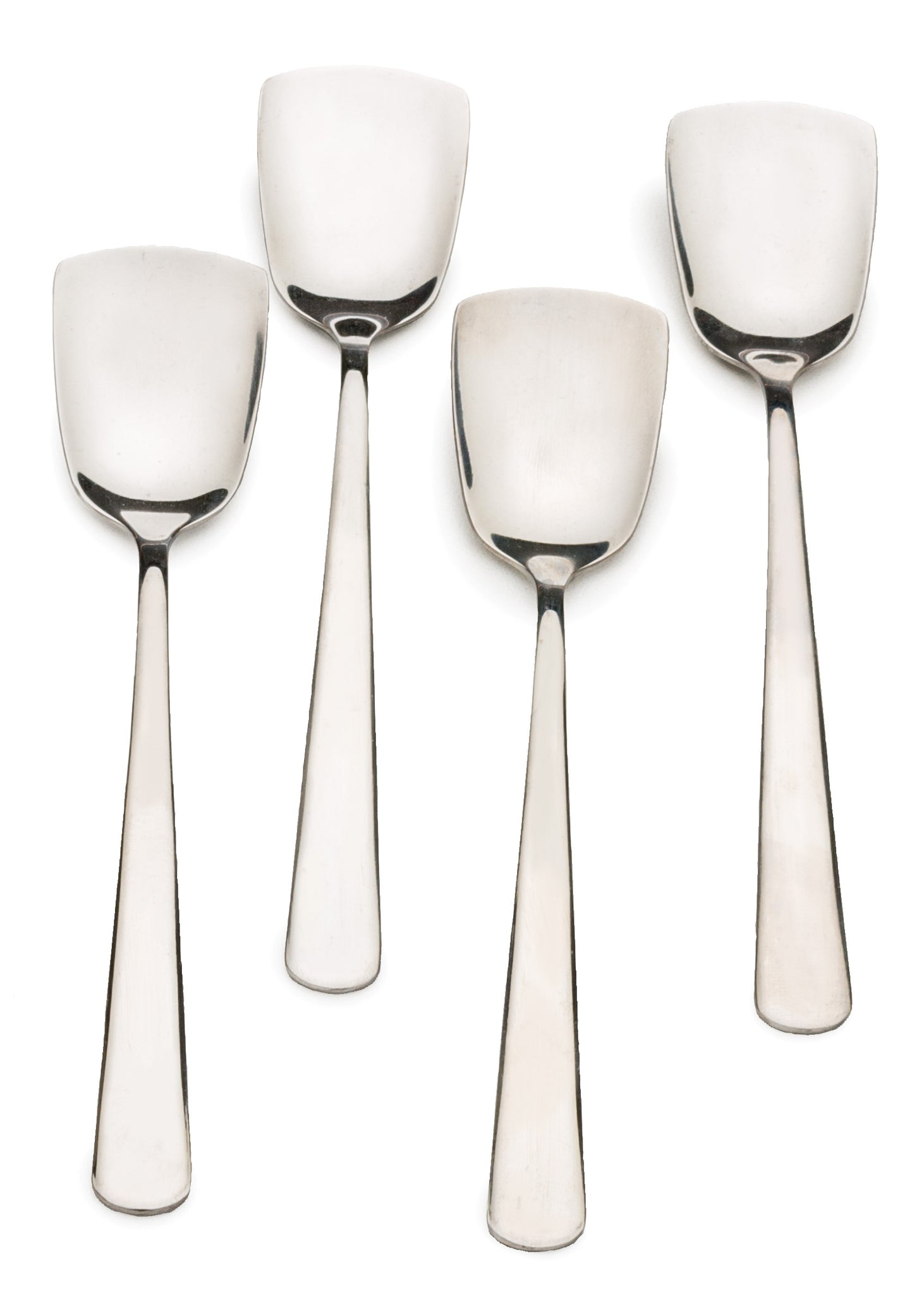 RSVP Ice Cream Spoons, Stainless Steel, Set of 4