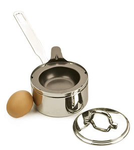 RSVP Stainless Steel 1-Egg Poacher Set