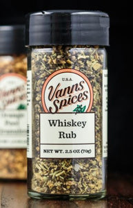 Vann's Spices Whiskey Rub