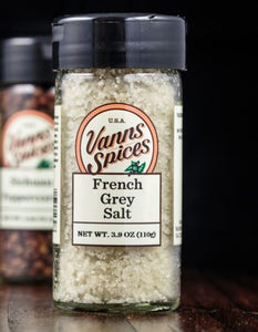 Vann's Spices Gourmet French Grey Sea Salt
