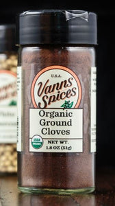 Vann's Spices Organic Cloves, Ground