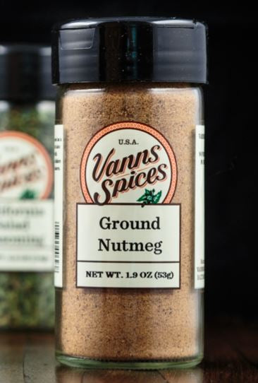 Vann;s Spices Organic Nutmeg, Ground