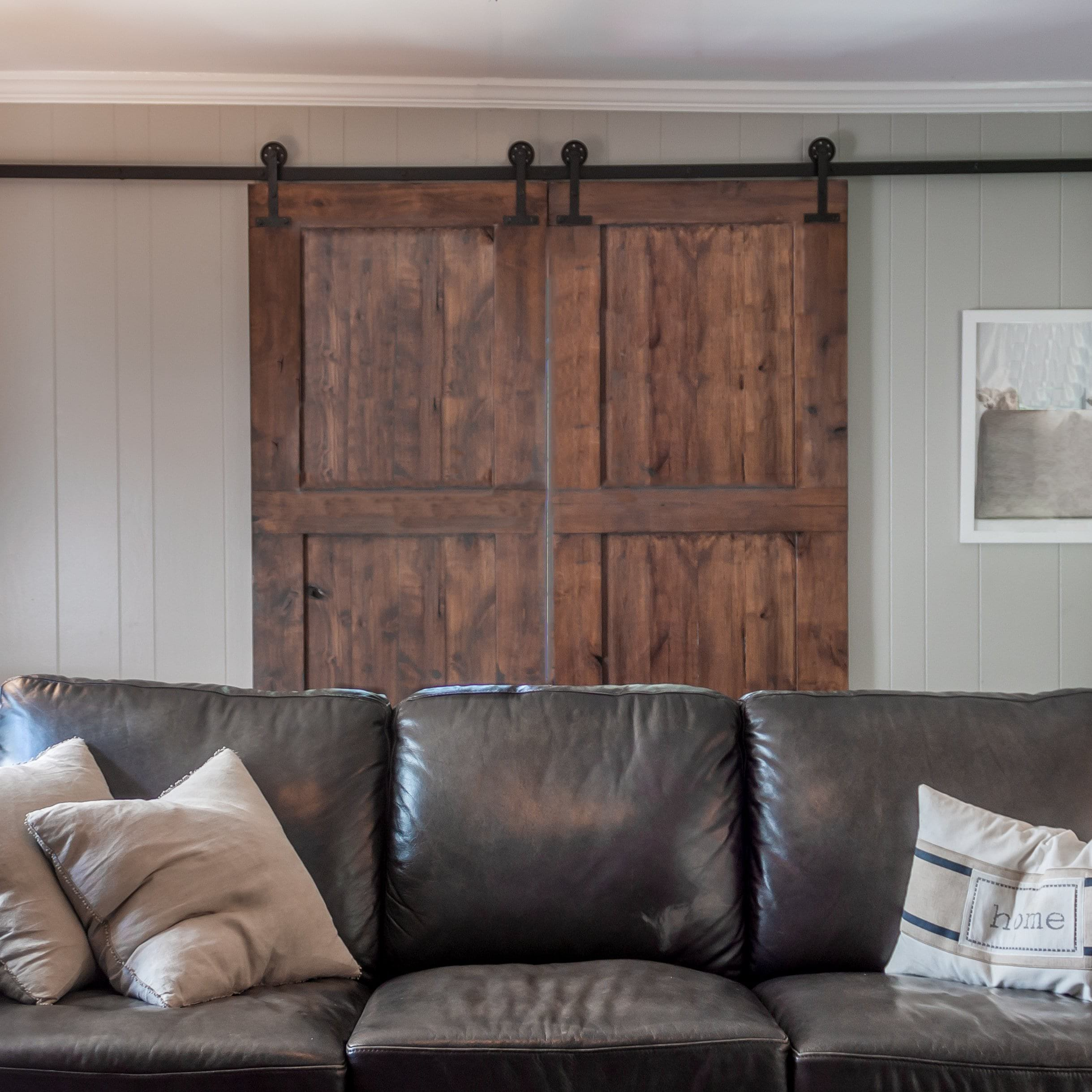 247   The Board And Batten Sliding The Barn Door   Custom And Hand