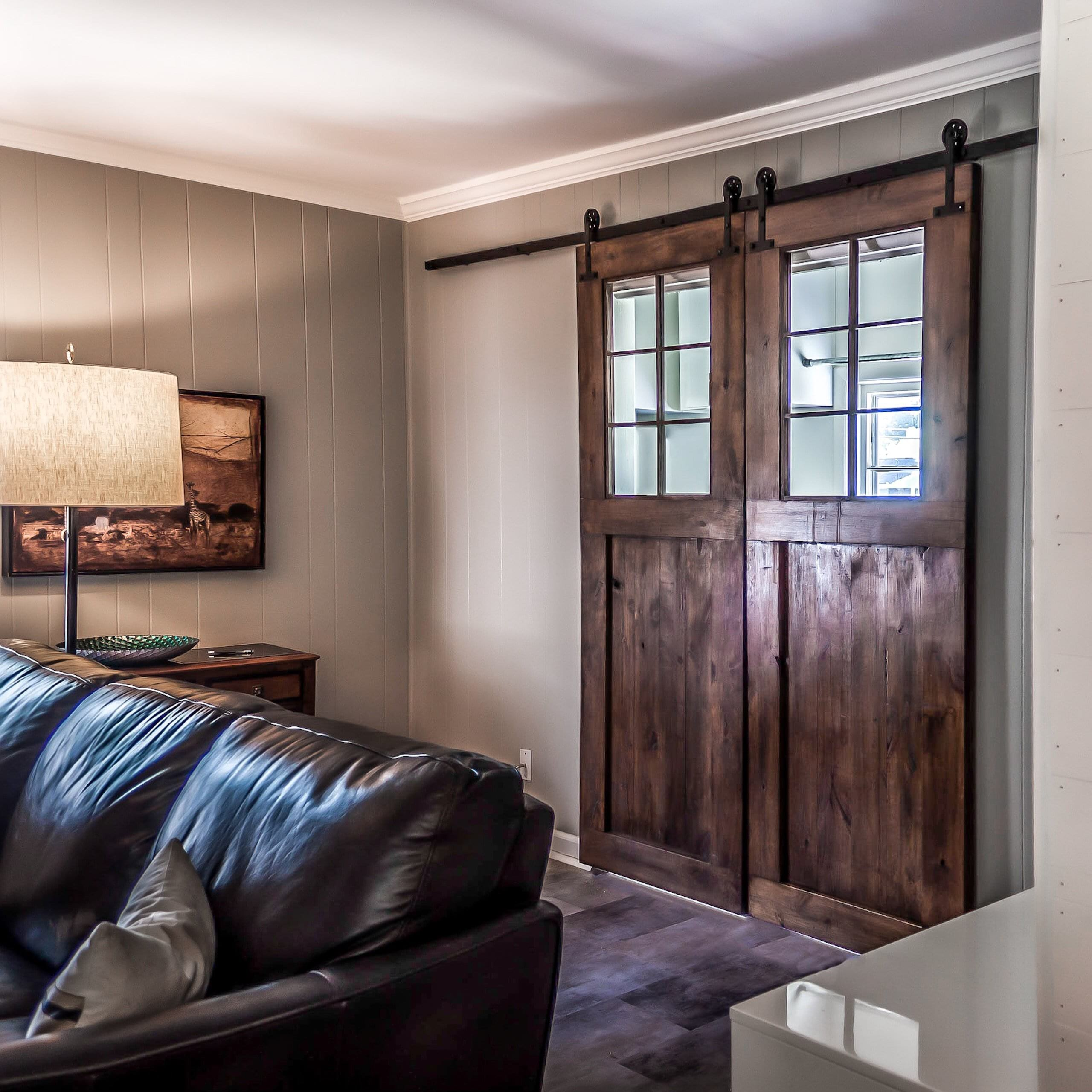 No 248 The Sliding Barn Door With A Window Edison Mccarthy