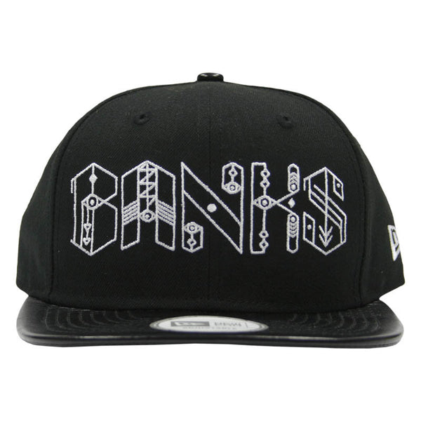 BANKS LOGO BLACK HAT