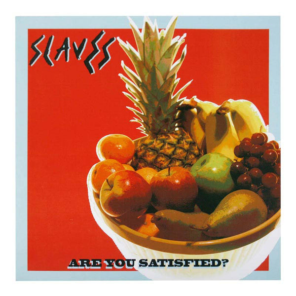 ARE YOU SATISFIED ALBUM PRINT - FRUIT BOWL ORANGE