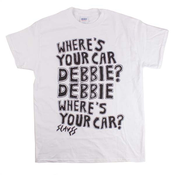 WHITE DEBBIE T-SHIRT