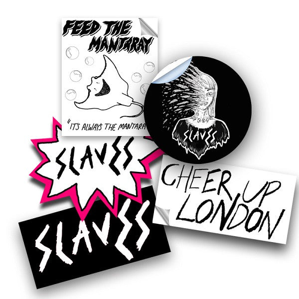 SLAVES STICKER SET