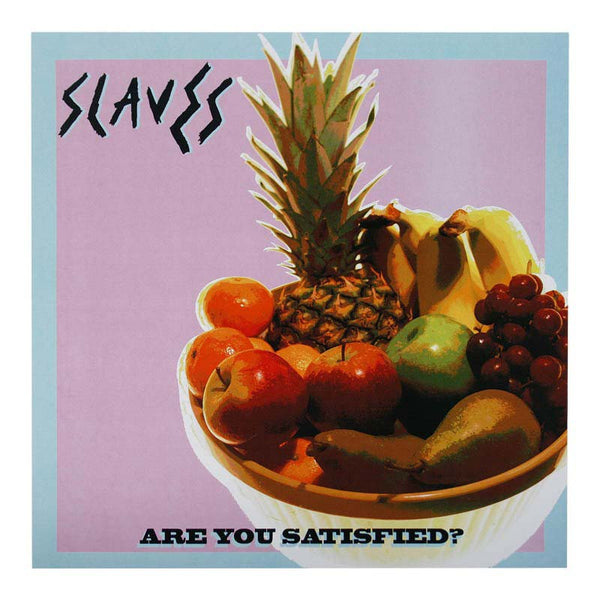 ARE YOU SATISFIED ALBUM PRINT - FRUIT BOWL PINK