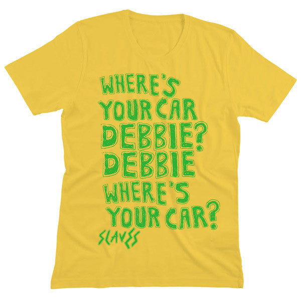 YELLOW DEBBIE T-SHIRT
