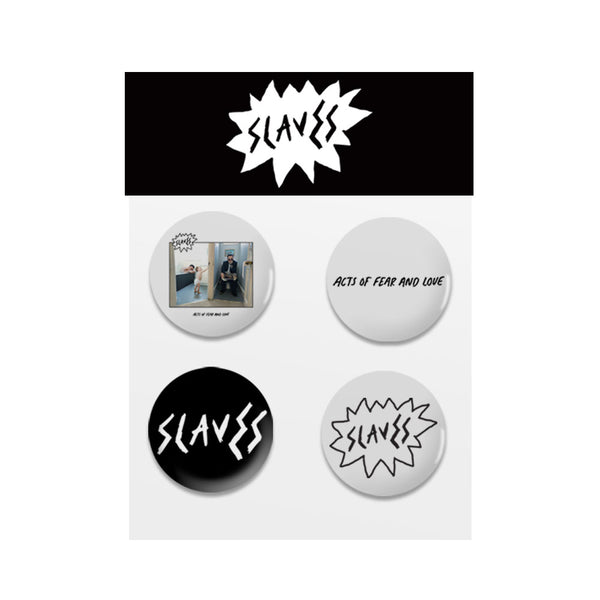 ACTS OF FEAR AND LOVE ALBUM BADGE SET