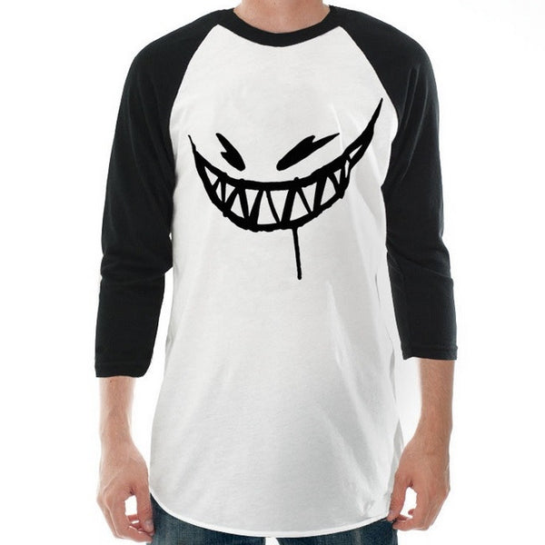 Feed Me // Painted Grin Baseball Tee