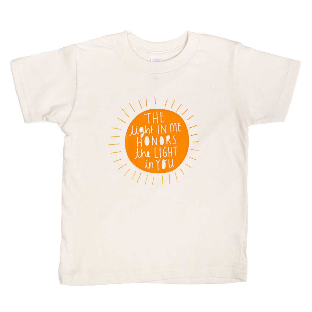 The Light in Me Organic Kids' Tee