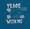 Peace Begins With Me Organic Kids' Tee