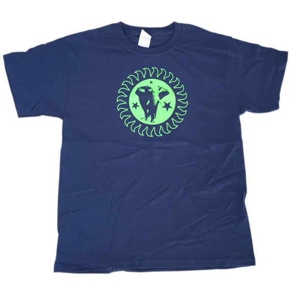 Brand New Heavies Blue Tee Green Logo Kids/Child T-Shirt