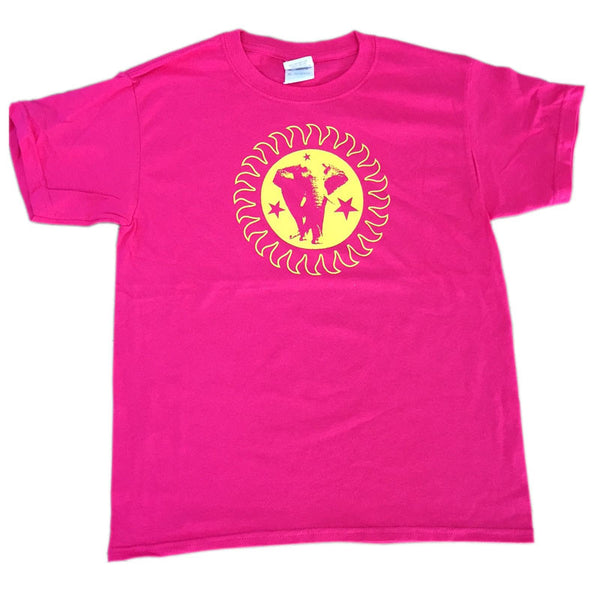 Brand New Heavies Pink Tee Yellow Logo Kids/Child T-Shirt