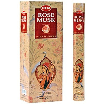 HEM ROSE-MUSK INCENSE