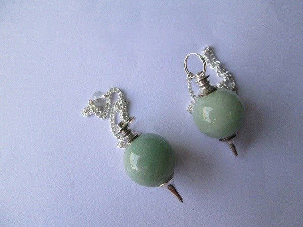 Green Aventurine Ball Pendulum