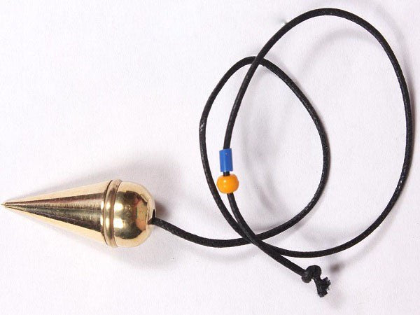 Golden Ring Pendulum With Cord