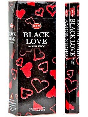 HEM BLACK LOVE INCENSE