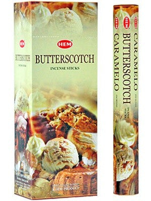 HEM BUTTERSCOTCH INCENSE
