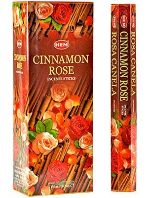 HEM CINNAMON-ROSE INCENSE