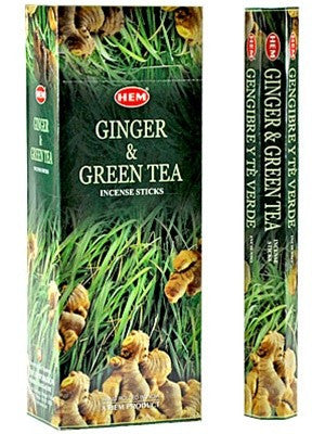 HEM GINGER & GINGER TEA INCENSE