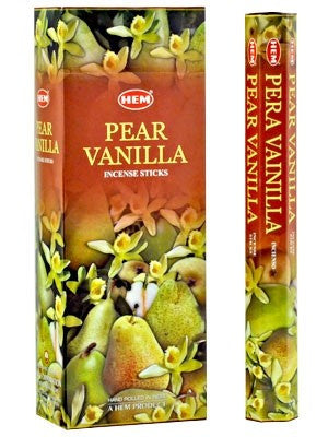 HEM PEAR-VANILLA INCENSE