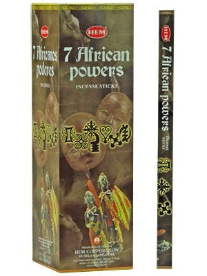 HEM 7 AFRICAN POWERS INCENSE