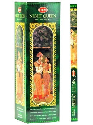 HEM NIGHT QUEEN INCENSE