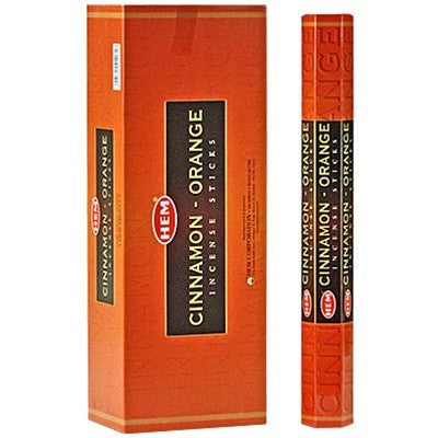 HEM CINNAMON-ORANGE INCENSE
