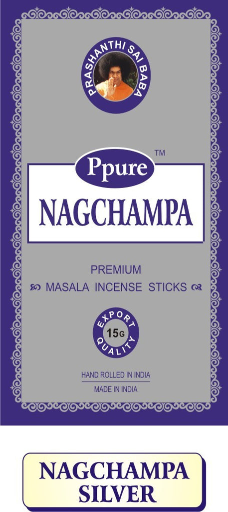 Ppure NAGCHAMPA SILVER BLUE