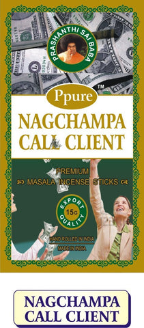 Ppure Nag Champa Call Client