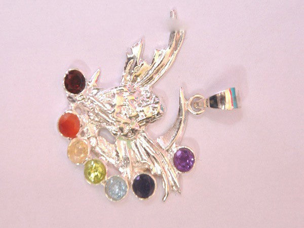 Chakra Pendant-[SG-35] With Cut Stone