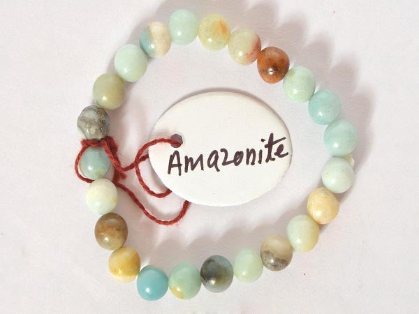 Amazonite-8 mm Bead Bracelet
