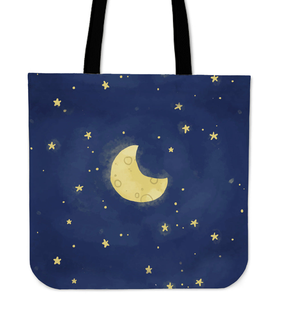 Moon and Stars Tote