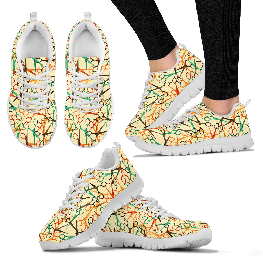 Scissors Pattern Running Shoes