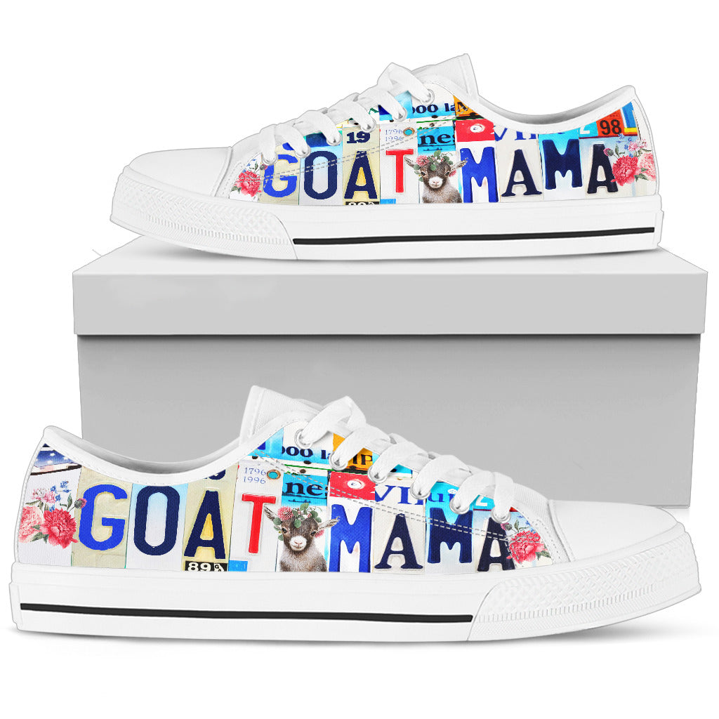 Goat Mama - Low Top
