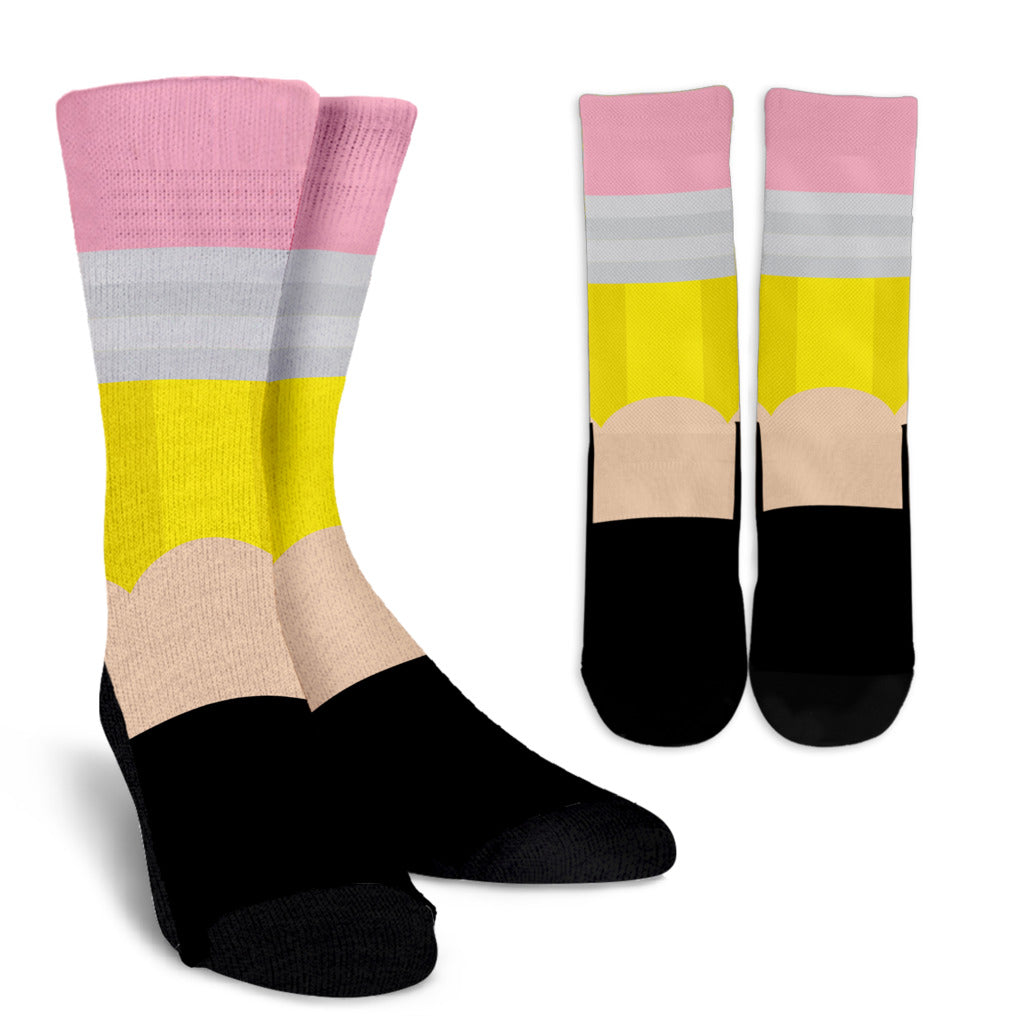 Pencil Crew Socks