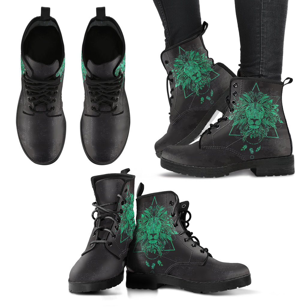 Spiritual Lion Women's Leather Boots