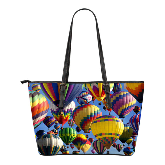 Ballooning Small Leather Tote