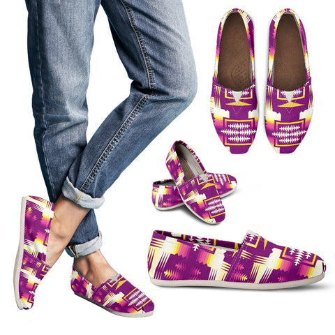 Purple Sunset Sage Women's Casual Shoe