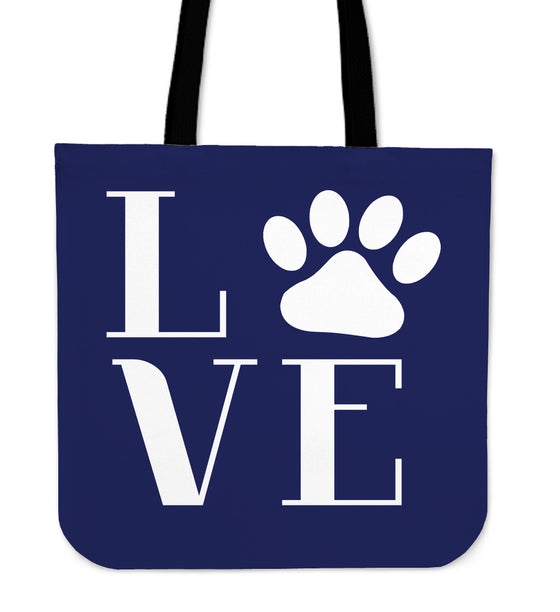 NP Love Dogs Tote Bag