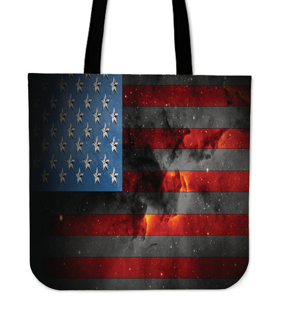 American Space Flag Tote Bag