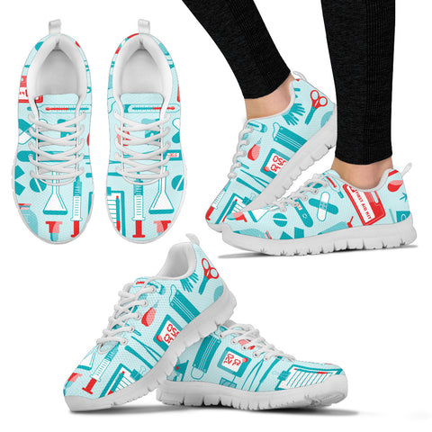Nurse Tools Women's Sneakers