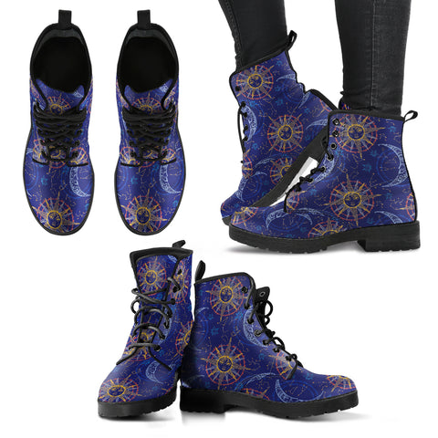 Sun Moon Alchemy Women's Leather Boots