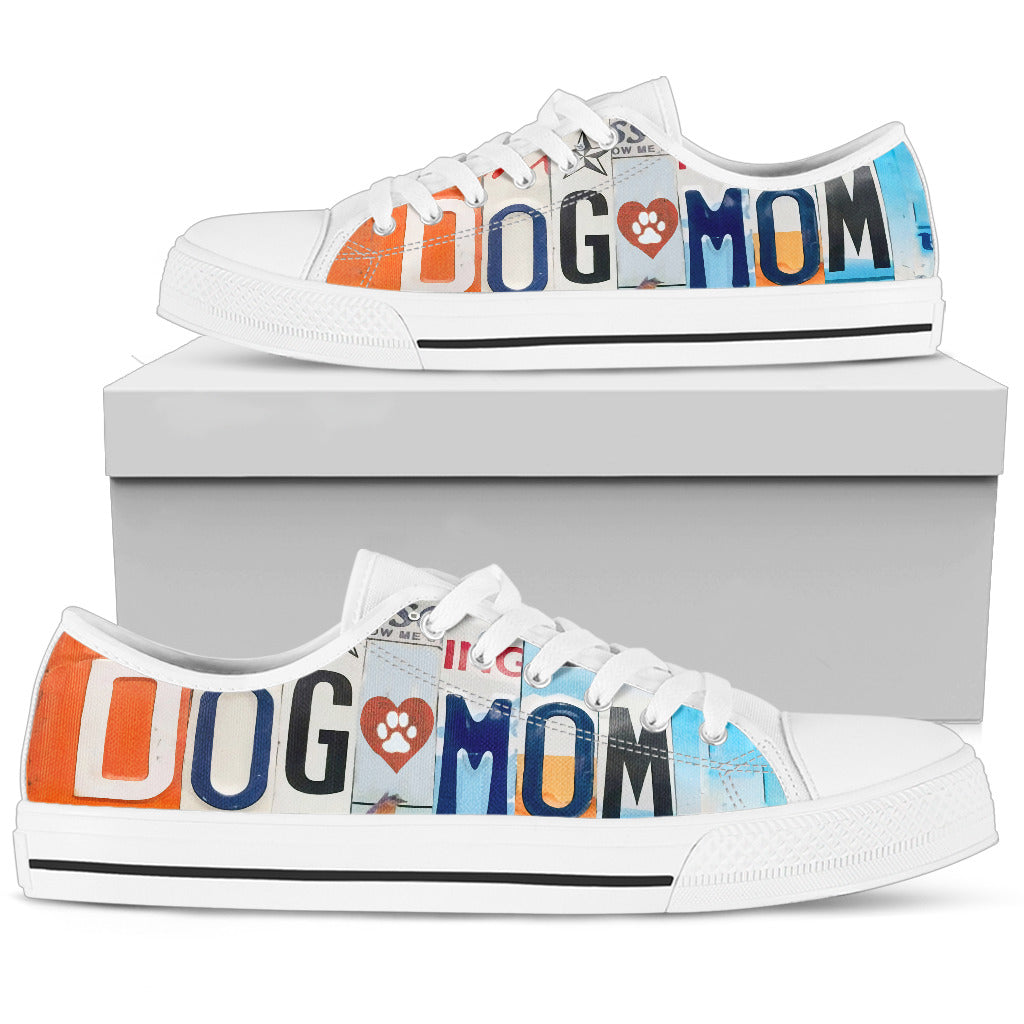 Dog Mom Low Top